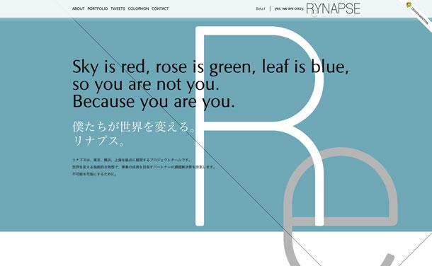 世界を変えるプロジェクトチーム - RYNAPSE | 株式会社リナプス