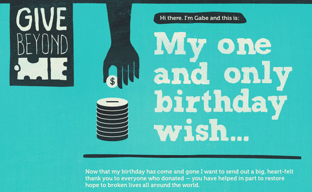 GiveBeyond.Me-_-My-one-and-only-birthday-wish...
