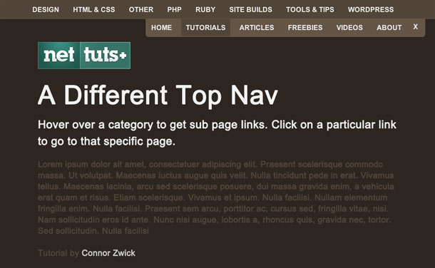 A-Different-Top-Nav