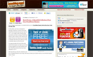 Best-Of-2011-A-Beautiful-Collection-Of-50-Free-WordPress-Themes