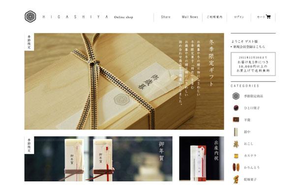 HIGASHIYA-Online-shop