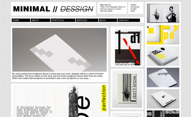 Minimal-Dessign-Theme