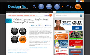 Website-Layouts-50-Professional-Photoshop-Tutorials